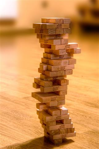 Jenga Single Bottom Tile